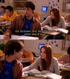 On Wednesdays, we wear pink. Happy Mean Girls day (October 3rd!)