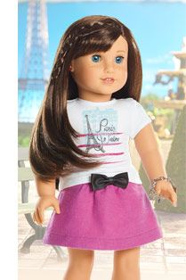 grace doll girl of the year 2014 american girl i am entirely