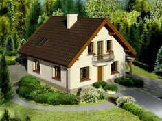 Proiect casa de 100 mp - o locuinta economica si functionala Villa Design, House Design, Clean My House, Avocado, Design Case, Homemaking, Bungalow, Shed, Exterior