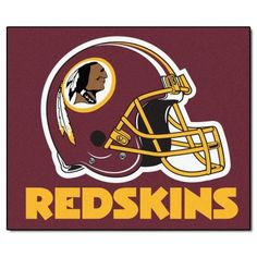Large Washington Redskins Logo Cut Out From