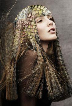 Kunstige haarkleuring  -  wow