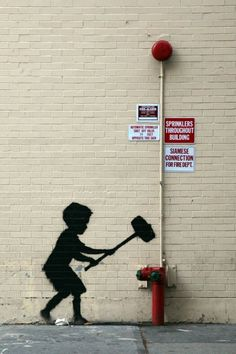 """Banksy's """"Better Out Than In"""" Hits New York's Upper West Side"""