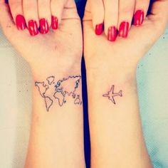 Travel lover ❤ #lacolecionadora #wanderlust #travel #traveler #travellover #airplane #world #map #wristtattoo #beautifultattoo #smalltattoos #smalltatto #tattoos #tatuaje #tatuagem #littletattoo #tattoedgirl #tattoo #follow #instatattoos #tinytattoo #tattooed #ink #inktattoo #inspiration #instatattoo #lovetattoo #ideias #colecionadoratattoos