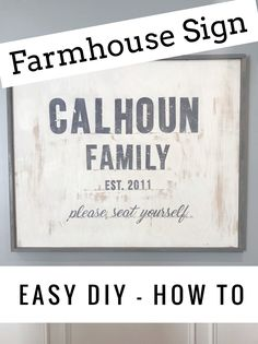 Farmhouse Sign DIY HOW TO from Trading Spaces - Sabrina Soto Episode