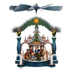 Kathe Wolhfahrt's Christmas Market pyramid.