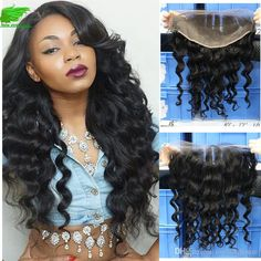 Human Hair Brazilian Lace Frontal Closure With Grade Cheap Ear To… Be A Nice Human, Lace Frontal, Lace Closure, Queens, Curly, Ear, Thea Queen