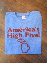 The Mitten State - America's High Five - Unisex