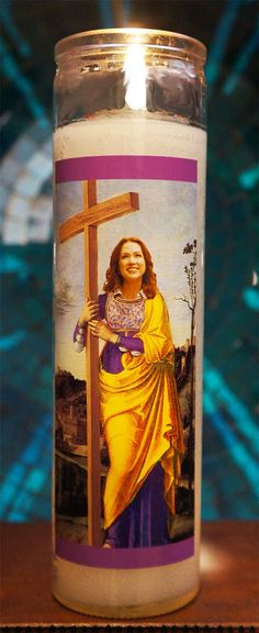 Saint Kimmy Schmidt Prayer Candle / by PurgatoryPenPals on Etsy