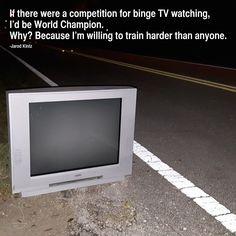 binging
