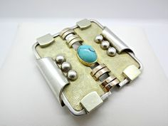 Jean Despres brooch in the Sonnabend Collection.