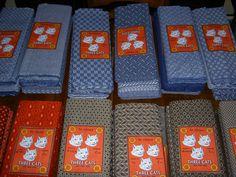 Three colorways of DaGama's Three Cats Brand.