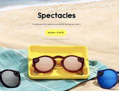 ICYMI: Snapchat lance sa version améliorée de lunettes connectées avec spectacles 2 Free Day, Spectacle, Snapchat, Round Sunglasses, Stuff To Buy, Glasses, Round Frame Sunglasses