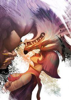 Jon Talbain & Lei Lei (Hsien Ko), from Darkstalkers ~ Vampire Savior.