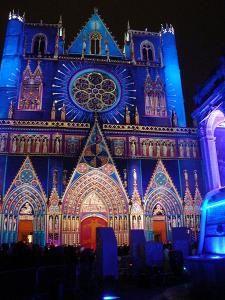 cathedrale-st-jean-lyon fête de la lumière