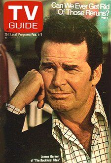 "TV Guide covers....James Garner of ""The Rockford Files"""