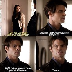Elijah in the Vampire Diaries