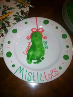 Oh The Grandparents Are SO Getting Some Kind Of Similar Project This Christmas Baby CraftsKids