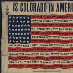 Political Posters, Labadie Collection, University of Michigan: Is Colorado in America?