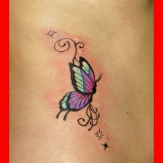 Small Butterfly Tattoos 03