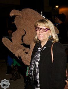 Detroit Metro Mashup's very own Michelle with Scooby Doo   photo credit: Detroit Metro Mashup