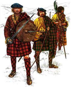 Jacobite highlanders 1740s