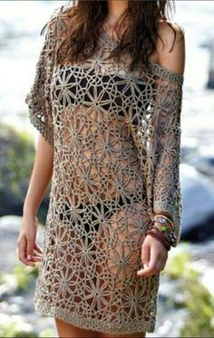 Trendy Ideas For Crochet Lace Top Pattern Free Tunics Crochet Woman, Diy Crochet, Crochet Top, Barbie Mode, Diy Kleidung, Tunic Pattern, Free Pattern, Top Pattern, Pattern Ideas