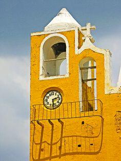 Convento San Antonio de Padua in Izamal, a colonial Mexican city