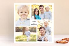 Love, Us Holiday Photo Cards by Up Up Creative at minted.com
