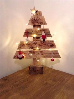 DIY Wood Pallet Tree | 101 Pallet Ideas