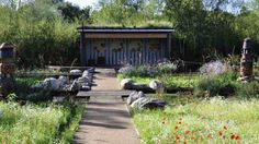 Shedworking: Green Roof Shelters