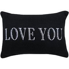 Park B. Smith ''Love You'' Throw Pillow