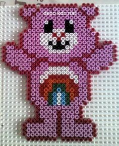 Bisousnours / Care Bears hama perler by DECO.KDO.NAT