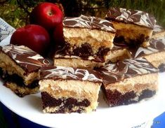 Érdekel a receptje? Kattints a képre! Chocolate, Cake Cookies, Fudge, Nutella, Tiramisu, French Toast, Cheesecake, Food And Drink, Sweets