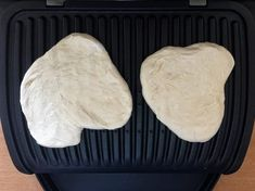 Simple grilled bread with dry yeast from the contact grill - OptiGrill recipes - In this recipe I will show you step by step how you can prepare a delicious bread in the OptiGrill - Bagel Sandwich, Grilled Bread, No Knead Bread, Tzatziki, Dry Yeast, Fresh Fruit, Nutella, Grilling, Sandwiches