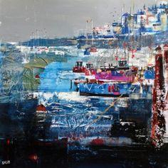 Nagib KARSAN artist, paintings and art at the Red Rag British Art Gallery