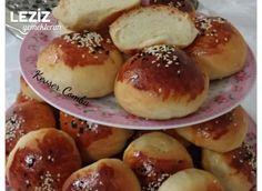 Yumuşacık Tombul Poğaçalar Pretzel Bites, Beautiful Cakes, Scones, Hamburger, Muffins, Food And Drink, Cooking, Recipes, Breads