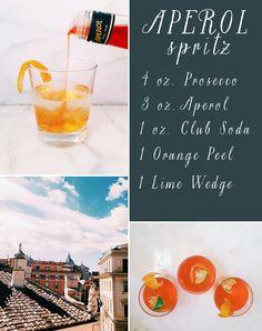 aperol spritz / #rome #airbnb