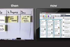 Support tasks are visual at AAA: Visual Task Management