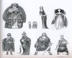 The Bear and The Bow Concept art - Google Search