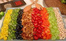 Kathleen Daeleman's Taco Salad. Love her books. Love this recipe.