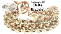 """This video from The Potomac Bead Company teaches you how to make our new """"Delta Bracelet,"""" using your color choices of SuperDuo beads, O Beads, Round beads (..."""