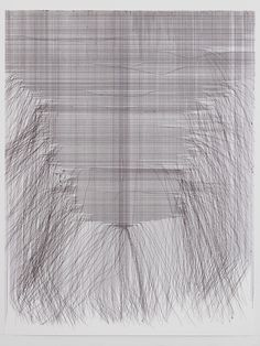 Fernando de Brito, NAMES, Hanne Darboven, ballpoint on paper, 2012
