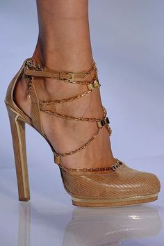 Christian Dior Chain Pumps | 2013 Fashion High Heels