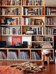 Bookshelf dreams from Bibliostyle Floor To Ceiling Bookshelves, Wall Bookshelves, Bookshelf Styling, Book Shelves, Creative Bookshelves, Bookshelf Ideas, Handmade Bookshelves, Bookshelf Organization, Diy Bookshelf Design
