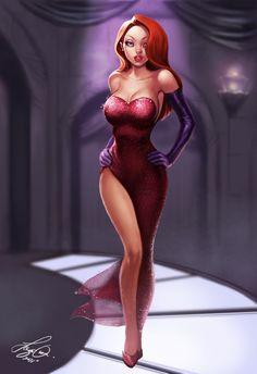Jessica Rabbit!