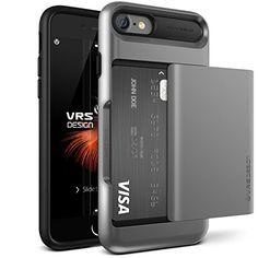 Coque iPhone 7, VRS Design [Damda Glide][Gris Foncé] - [P…