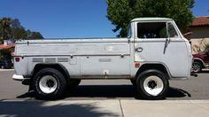 lifted Volkswagen service truck