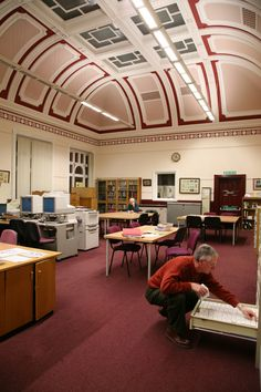 Centre for Local Studies, Crown Street Library, Darlington, UK