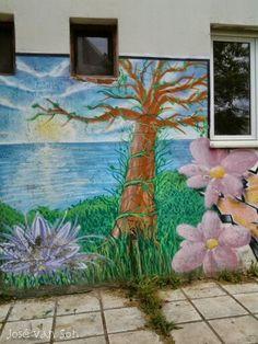 Street Art: near Zazari lake Macedonia Greece