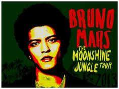 Bruno Mars: Moonshine Jungle Tour with Ellie Goulding! Bruno Mars is set to embark on a world tour and he is taking along Ellie Goulding for the ride! Bruno Mars Tour, Bruno Mars News, Lil Wayne, Bruno Mars Concert Tickets, Osaka, Unorthodox Jukebox, Amway Center, Las Vegas, Win Tickets